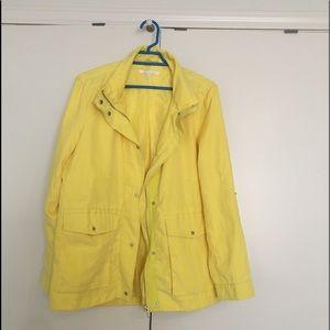Women's yellow jacket